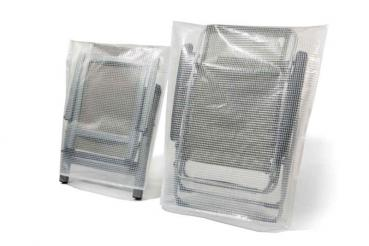 Protective bag folding chair M - transparent